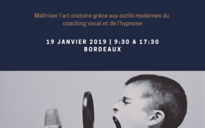 Prise de Parole en Public – Coaching Vocal & Hypnose